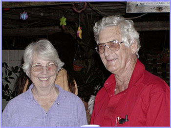 Joyce and Don Gann, 2000 (photo from Dade Chapter newsletter)